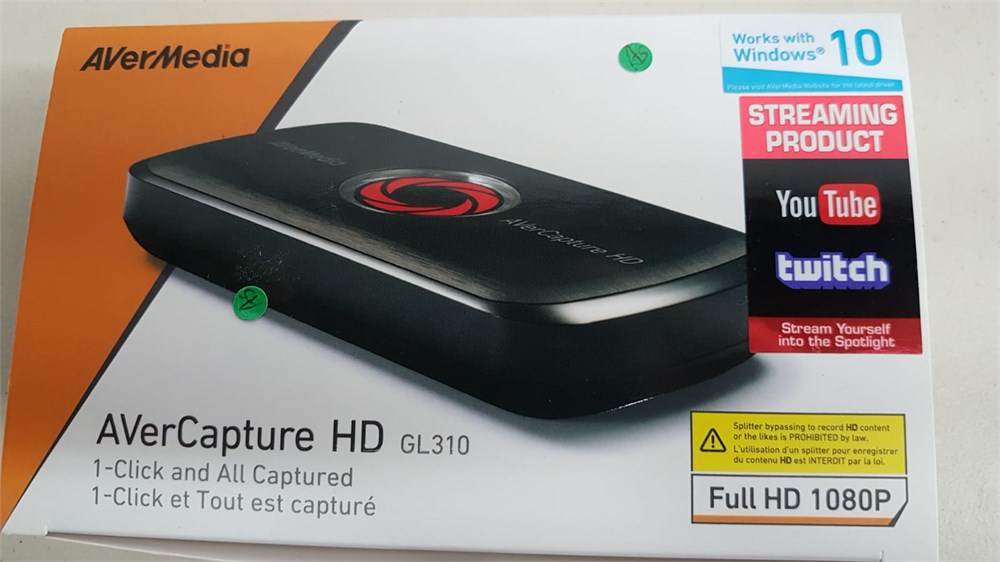 Clearance Depot - New AVerMedia AVerCapture HD, Game Streaming and