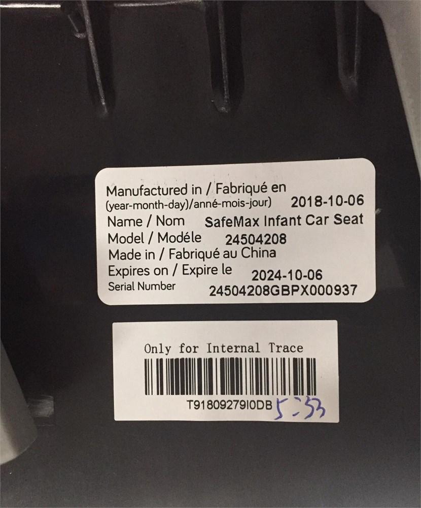 Black//Beige Sandstone Evenflo Pivot Modular Travel System with SafeMax infant car seat 56021993C
