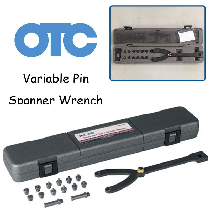 OTC 6613 Variable Pin Spanner Wrench