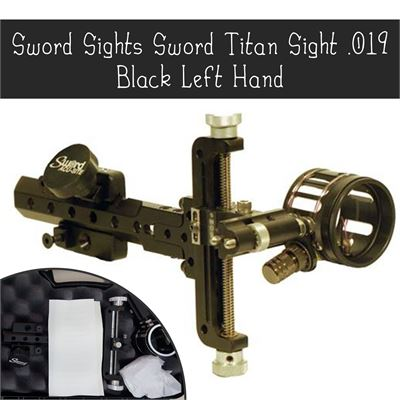 New  Sword Sights Sword Titan Sight .019 Black Left Hand