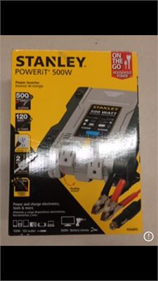 Clearance Depot - NEW STANLEY PI500PS 500-Watt-Continuous
