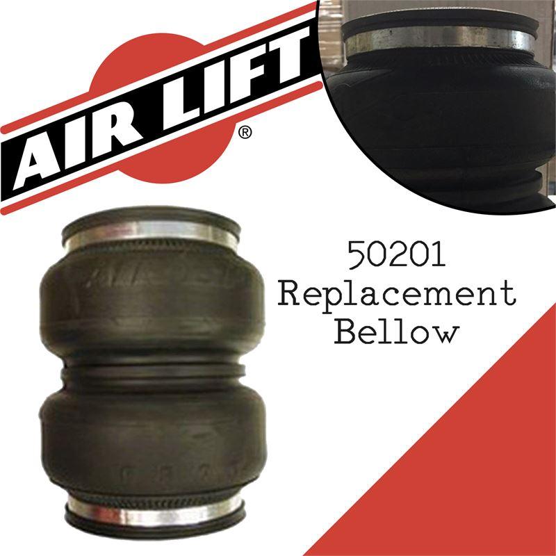 AIR LIFT 50201 Replacement Bellow