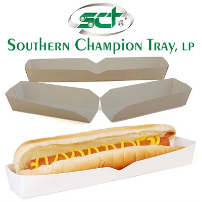 NEW Southern Champion Tray 0711 Hot Dog Food Tray