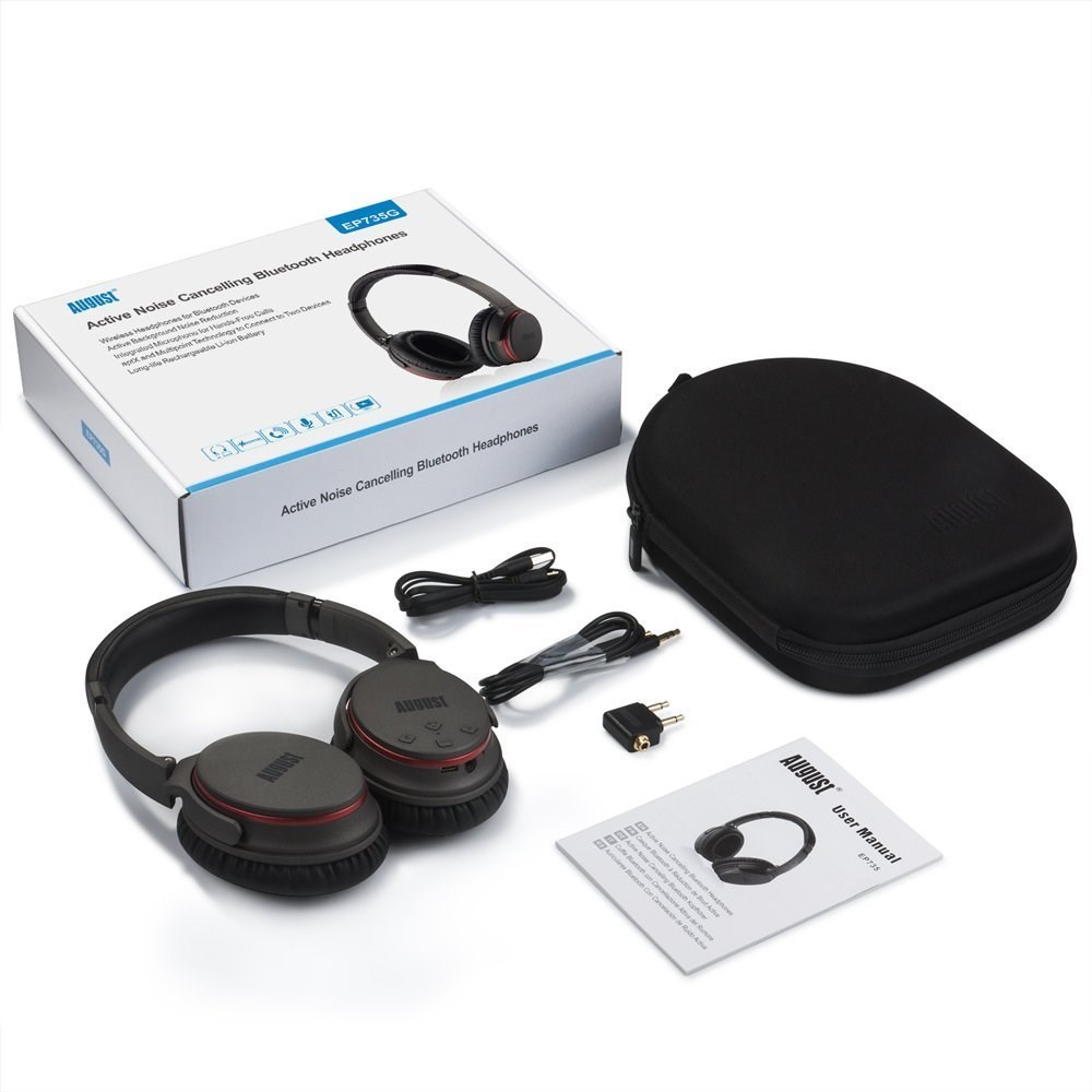 Computer Media Active Noise: NEW Active Noise Cancelling Bluetooth