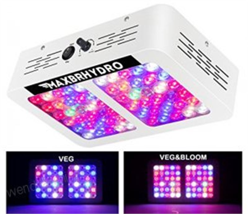 Clearance Depot - NEW Dimmable 600W LED Grow Lights 12-band