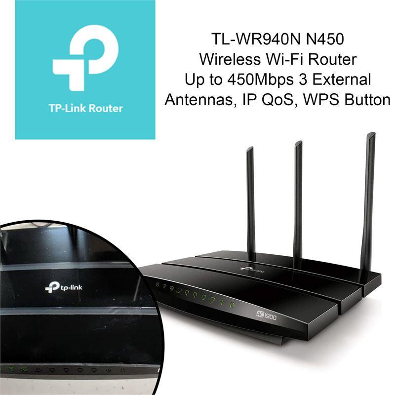 Clearance Depot - NEW TP-Link TL-WR940N N450 Wireless Wi-Fi