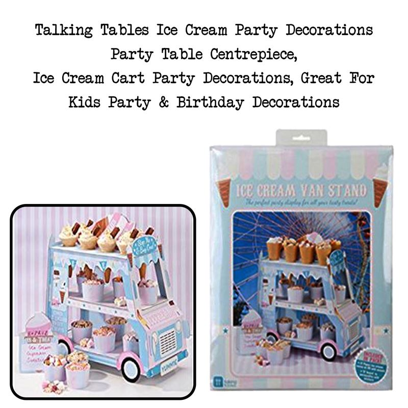 Talking Tables Ice Cream Party Decorations