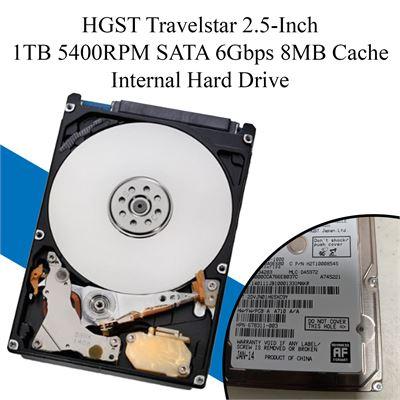 HGST Travelstar 5K1000-1000 1TB SATA 6Gbps Laptop SATA HardDrive HTS541010A9E680