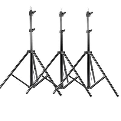 NEW Neewer 3 Pieces 6ft/75 inch/190cm Photography Tripod Light Stands for Studio Kits,Video, Lights, Softboxes, Reflectors, etc.