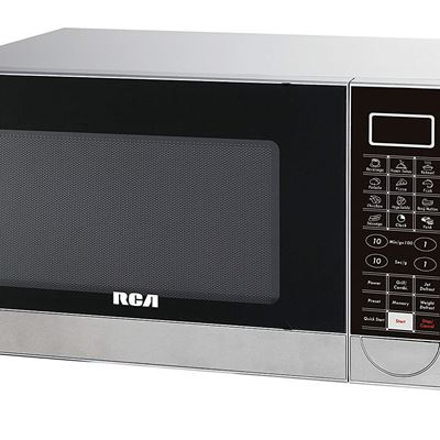 NEW RCA Microwave and Grill, 1.1 Cubic Feet, Stainless Steel