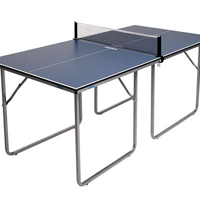 NEW JOOLA Midsize Compact Table Tennis Table Great for Small Spaces and Apartments, Multi-Use Free Standing Table, Compact Storage Fits in Most Closet