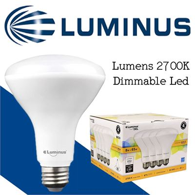 NEW Luminus PLYC5294-8W (65W) 650 Lumens 2700K Dimmable Led