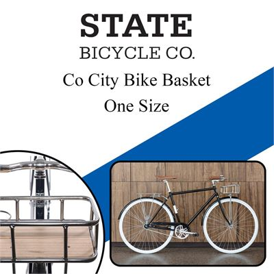 NEW State Bicycle A796201609080 Co City Bike Basket, One Size