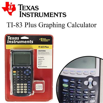 USED Texas Instruments TI-83 Plus Graphing Calculator