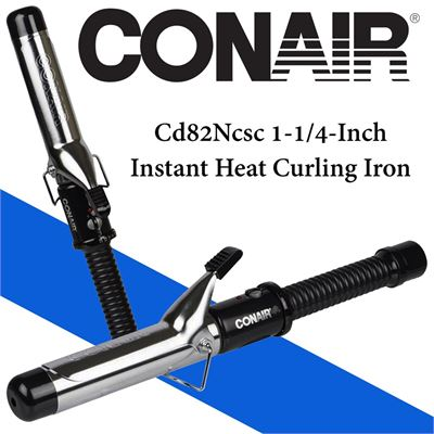 NEW Conair Cd82Ncsc 1-1/4-Inch Instant Heat Curling Iron