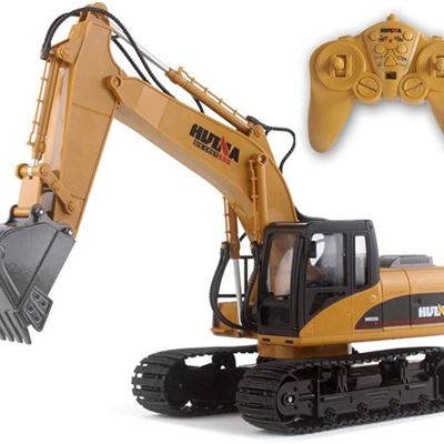 NEW Remote Control Alloy Engineering car 1:14 Crawler car 15 CH 2.4 GHz Alloy Excavator Children's Toy Gift