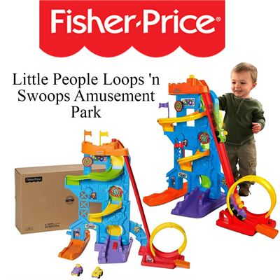 NEW Fisher-Price Little People Loops 'n Swoops Amusement Park