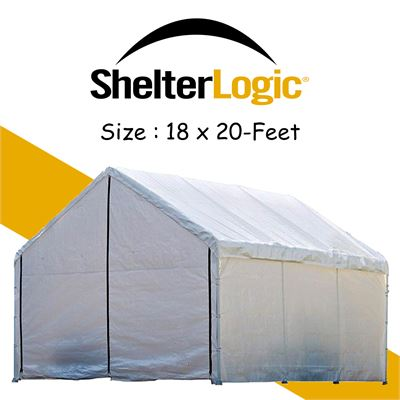 NEW ShelterLogic 18-Feet Super Max Canopy Accessories Enclosure Kit