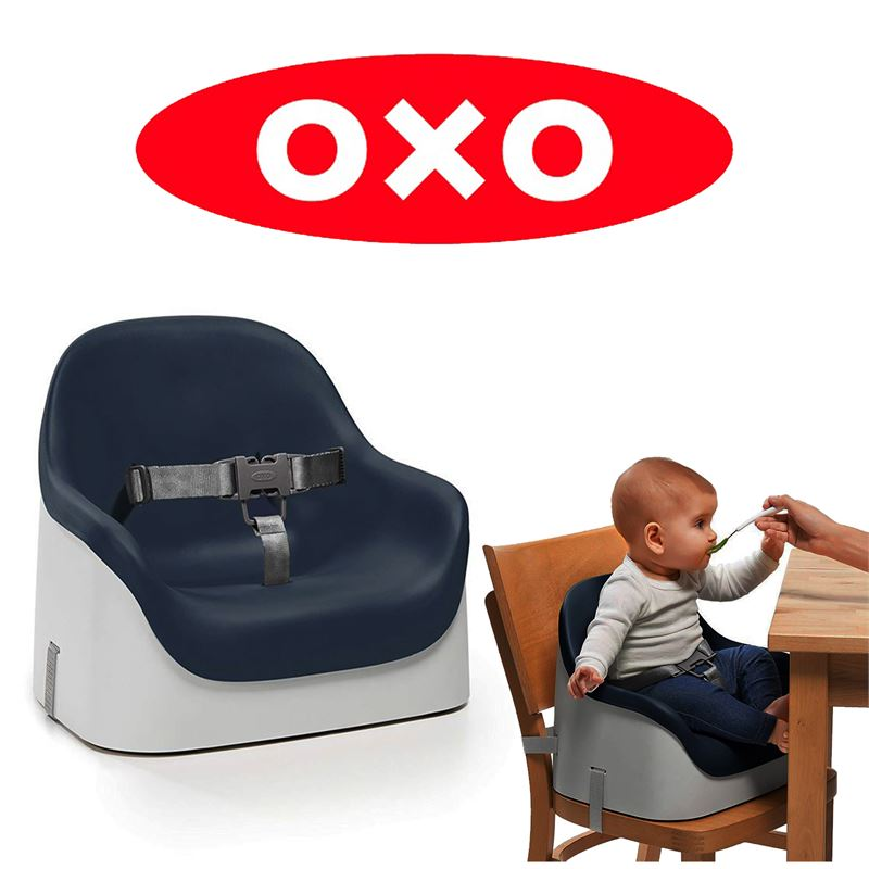 Clearance Depot Used Oxo Tot Nest Booster Seat With Straps Navy