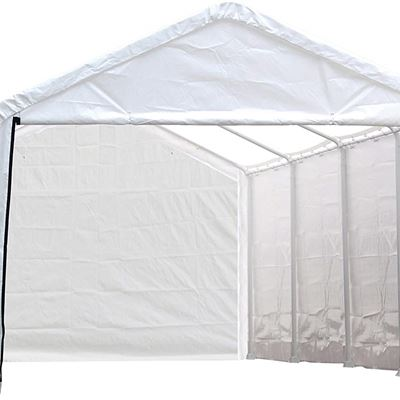 NEW ShelterLogic 12-Feet Super Max Canopy Accessories Enclosure Kit