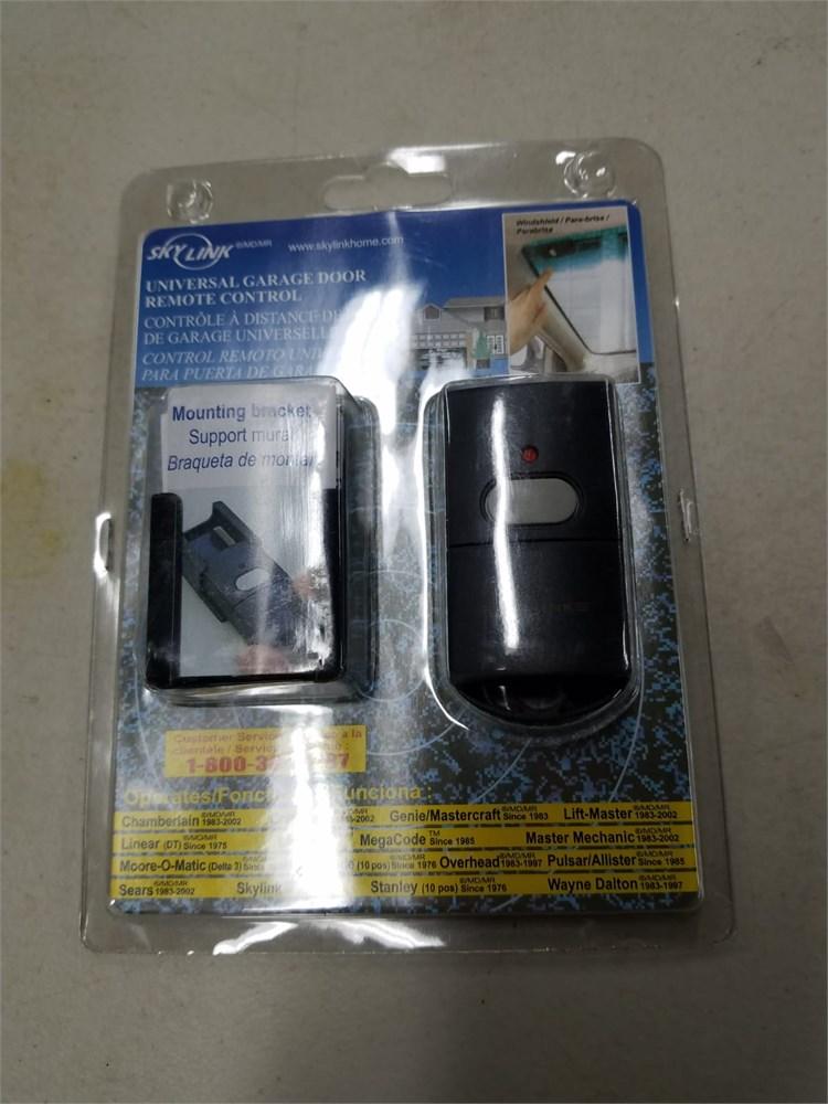 compatible with multiple manufacturers of Garage Door Openers Skylink 69P Universal Garage Door Opener 1 Button Keychain Remote Control Transmitter