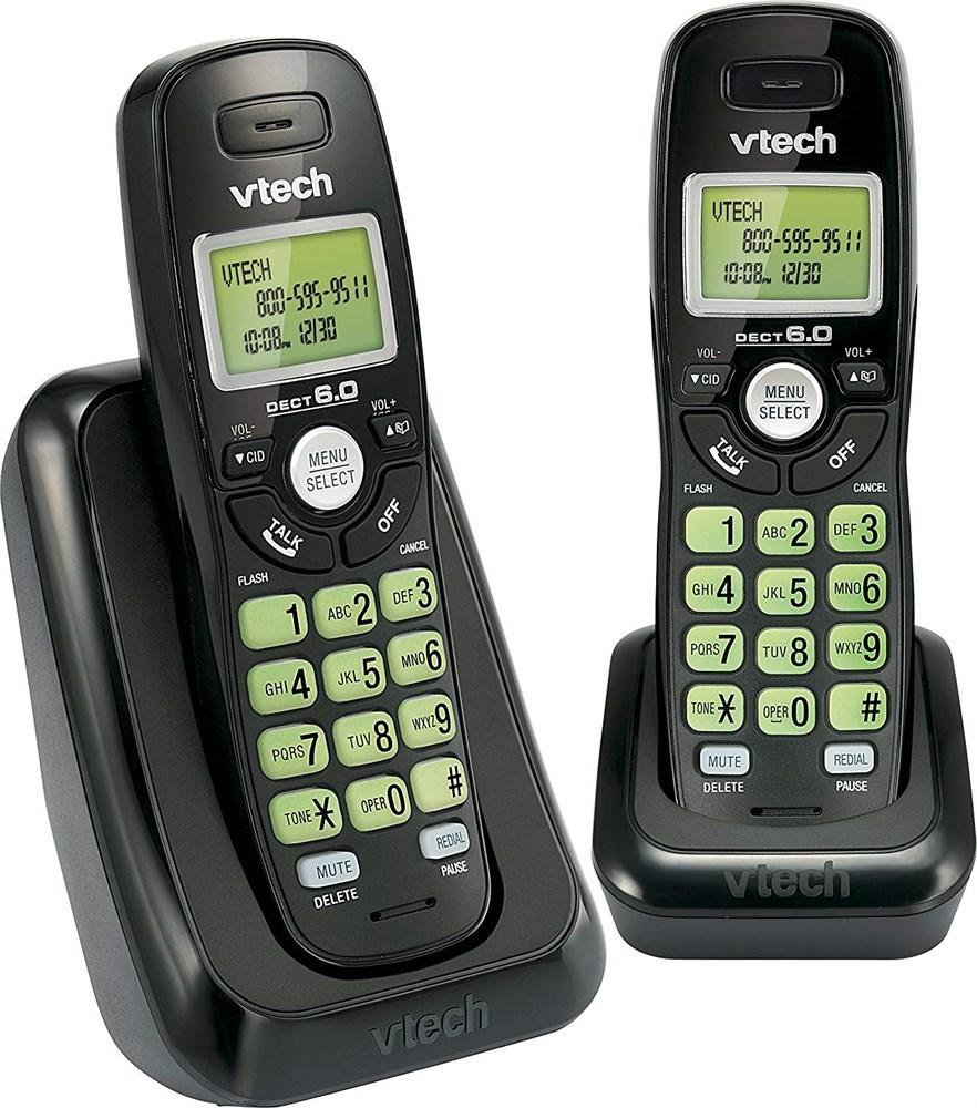 NEW Vtech Dect 6.0 2-Handset Cordless
