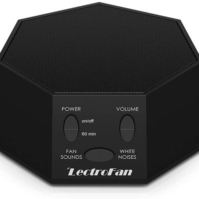 NEW Adaptive Sound Technologies ASM1007-BF Lectrofan Noise and Fan Sound Machine, Black