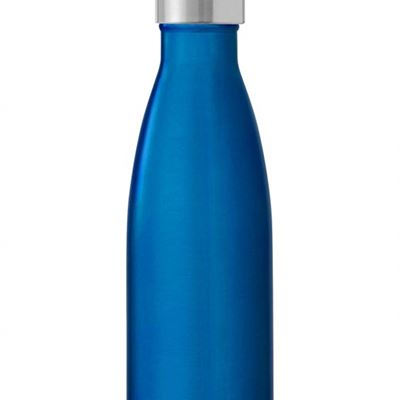 NEW S?well Vacuum Insulated Stainless Steel Water Bottle, Double Wall, 17 oz, Ocean Blue