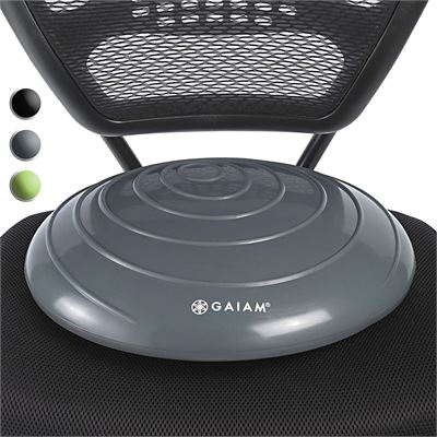LIKE NEW Gaiam Balance Disc Wobble Cushion Stability Core Trainer for Home or Office Desk Chair & Kids Alternative Classroom Sensory Wiggle Seat