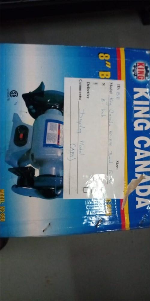 King Canada KC-890 Bench Grinder 8-Inch