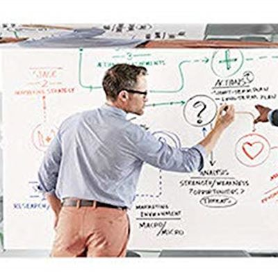 NEW Post-it Dry Erase Surface, 8 x 4 Feet, Create a Custom White Board or Dry Erase Board Anywhere