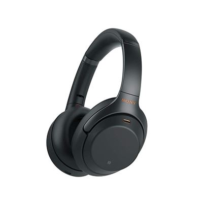 NEW Sony Noise Cancelling Headphones WH1000XM3: Wireless Bluetooth Over the Ear Headphones with Mic and Alexa voice control - Black