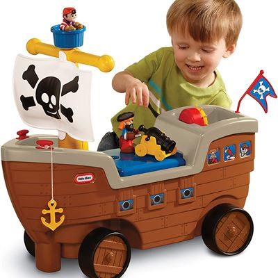 New Little Tikes 2-in-1 Pirate Ship