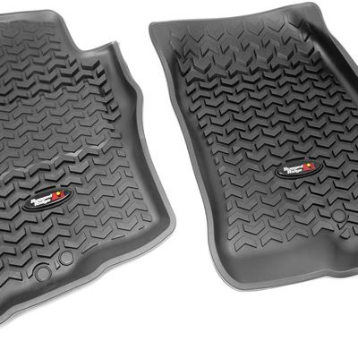 New Rugged Ridge 82905.10 Black All Terrain Front Floor Liner for Nissan Xterra/Pathfinder