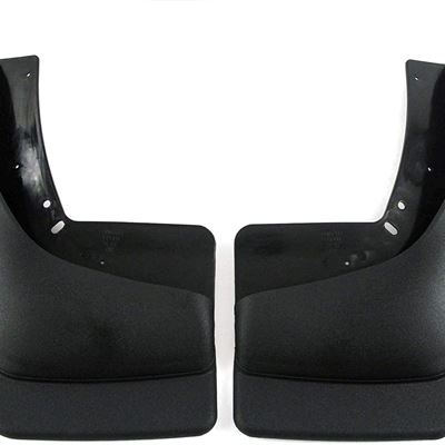 New 1999-2007 Compatible with Chevy Chevrolet Silverado GMC Sierra Mud Flaps Guards Splash (with OEM Flares) Rear Molded 2pc