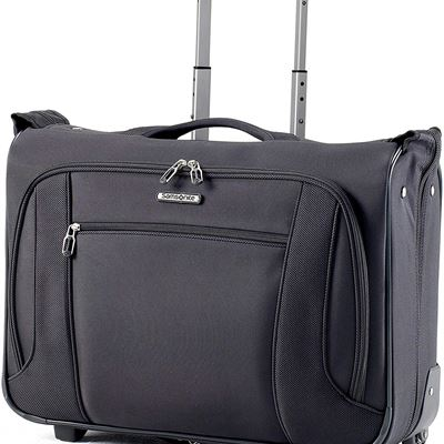 New Samsonite 76031-1041 Lift NXT Wheeled Garment Bag Carry-On, Black, International Carry-On