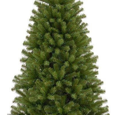 New National Tree 7.5 ft. North Valley Spruce Tree, Size : 7.5-FEET