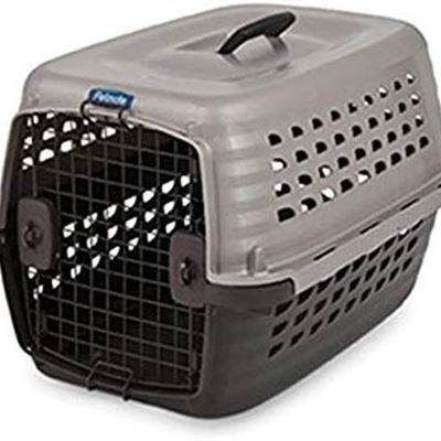 NEW Doskocil Petmate Navigator Kennel 24-Inch Pearl, Almond Brown