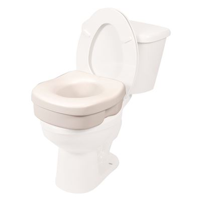 NEW PCP Lightweight Molded Toilet Seat Riser, White, 5 Inch