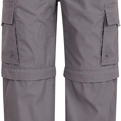 NEW Mountain Warehouse Active Kids Convertible Hiking Pants - For Outdoor, size: 11-12 years