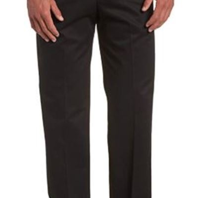 NEW Haggar Men's Work to Weekend Hidden Expandable Waist No Iron Plain Front Pant, size: 42W x 29L