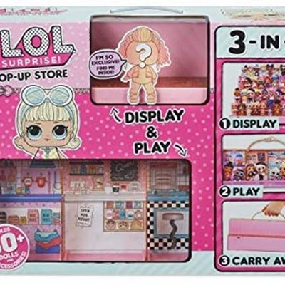 NEW L.O.L. Surprise! Pop-Up Store (Doll - Display Case)