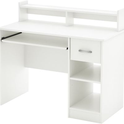 NEW South Shore Furniture Axess Collection Desk, Pure White