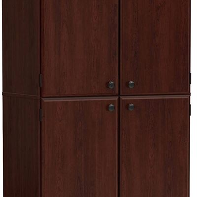 NEW South Shore Morgan Collection Storage Cabinet, Royal Cherry