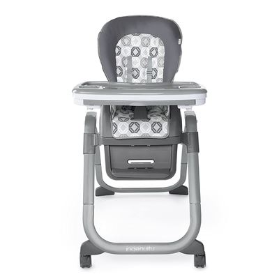 NEW Ingenuity SmartServe 4-in-1 High Chair with Swing Out Tray � Clayton � High Chair, Toddler Chair, Booster