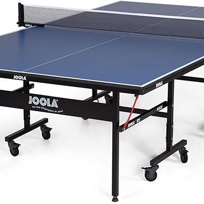 NEW JOOLA Inside Table Tennis Table with Net Set - Features Quick 10-Min Assembly, Playback Mode, Foldable Halves