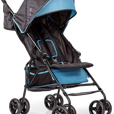 NEW Summer Infant 3Dmini Convenience Stroller, Dusty Blue