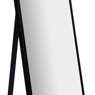 "NEW Everly Hart Collection 16"" x 57"" Full Length Black Floor Free Standing Easel Mirror"