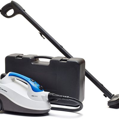 Reliable Brio 225CC Steam Cleaner - Steam Cleaning System with 65 PSI Pressure for Home Use, Steamer for Cleaning Tile, Grout, Hardwood Floor