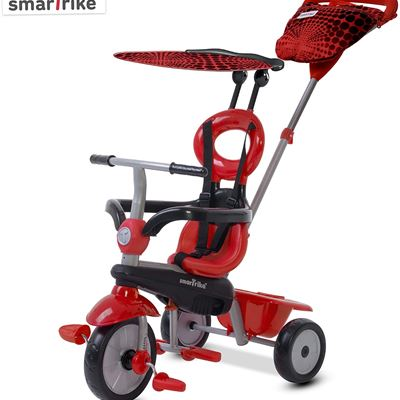 BRAND NEW smarTrike Vanilla Baby Tricycle, Red